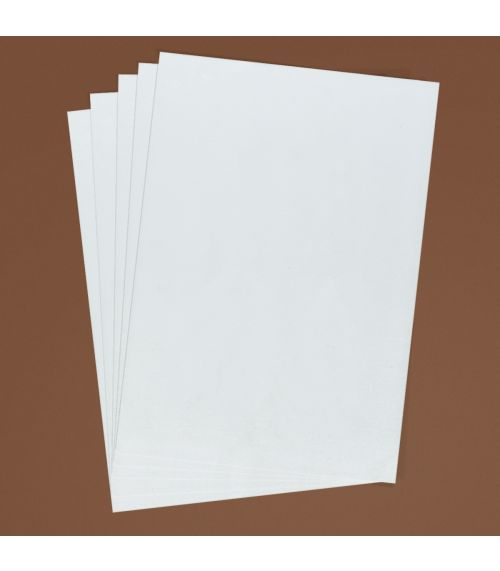 Unprinted (blank) Chocolate Transfer Sheets A4